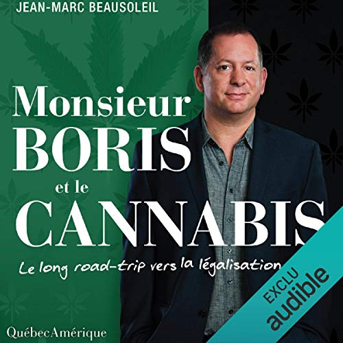 Monsieur Boris et le cannabis audiobook cover art