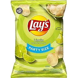 Lay's Potato Chips, Limon, 12.5oz Party Size Bag