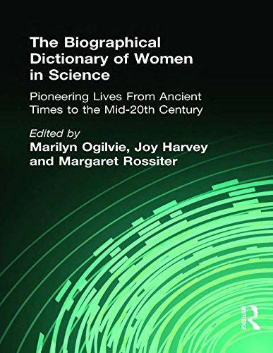 The Biographical Dictionary of Women in Science: Pioneering Lives From Ancient Times to the Mid-20th Century (English Edition)