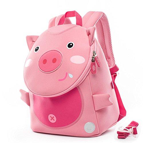 Toddler Bags, Kindergarten Schoolbag Animals Kids Book Backpack Nursery Bag Kinder...