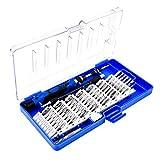 vitihipsy Schraubendrehersatz 60 in 1 magnetischem Präzisionswerkzeug-Reparatursatz für Tablet-PC-Smartphone
