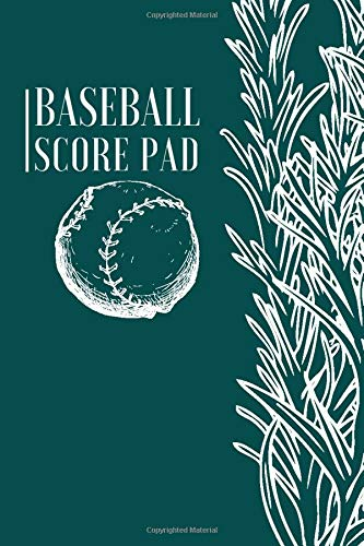 Baseball Score Pad: Professional Baseball Scoring Sheet, Score Sheet Notebook for Outdoor Games, Gifts for Game Records, Game lovers, Friends and ... with 110 Pages. (Baseball Scorebook, Band 9)