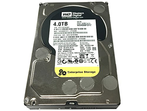 Western Digital RE WD4000FDYZ 4TB 64MB Cache 7200RPM SATA 6.0Gb/s 3.5