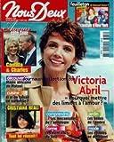NOUS DEUX [No 3030] du 26/07/2005 - CAMILLA ET CHARLES - VICTORIA ABRIL - CUISINE -...