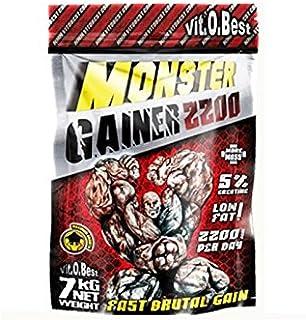 VitoBest - Monster Gainer 2200 - 3 kg - Fresa