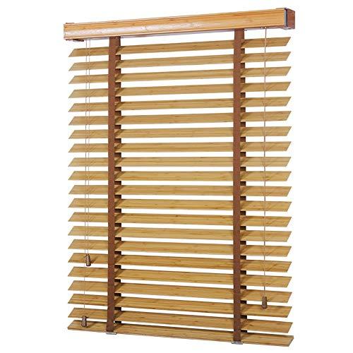 WENZHE Tenda A Rullo Cortina di bambù Tende alla Veneziana Tapparella Dimmerabile Sollevabile Casa Balcone Parasole Rotaia Sistema di Cordone, Taglia Personalizzabile