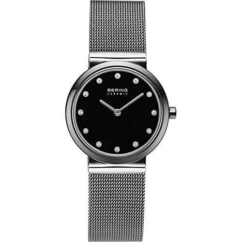 BERING Damen-Armbanduhr Analog Quarz Edelstahl 10729-222