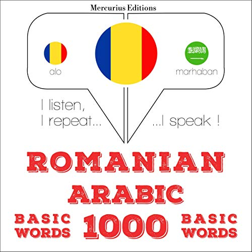 Couverture de Romanian - Arabic. 1000 basic words