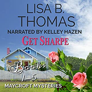 Get Sharpe: Maycroft Mysteries, Books 1-5 audiobook cover art