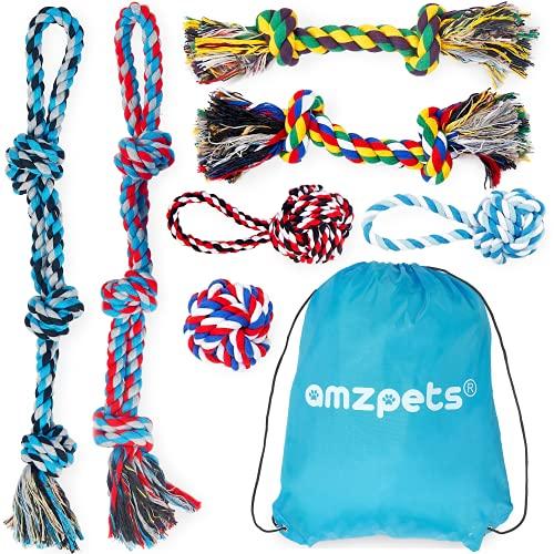AMZpets Dog Rope Toy Set