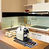 Nespresso - Soporte para cápsulas de café, soporte para cápsulas de café Nespresso, soporte de cápsula de café, soporte de metal vertical para cápsulas de café, 42 unidades de cápsulas de café