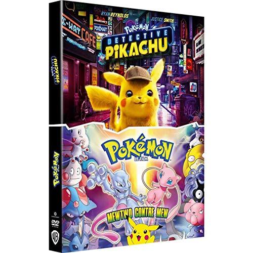 Détective Pikachu + Pokémon Le Film : Mewtwo Contre Mew