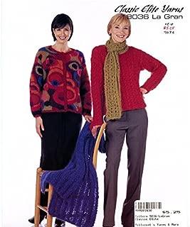 Classic Elite Yarns #9036 La Gran Knitting Pattern