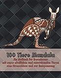 100 Tiere Mandala - Ein Malbuch für Erwachsene mit super niedlichen und entzückenden Tieren zum Stressabbau und zur Entspannung