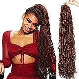 ZRQ 36 Inch New Faux Locs Crochet Braids Hair...