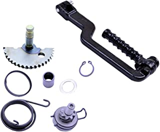 Chanoc Kick Start Shaft Gear Idle Gear for GY6 49cc 50cc ATV Scooter Moped 139QMA 139QMB Engine