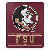 Northwest NCAA Florida State Seminoles 50x60 Fleece Control DesignBlanket, Team Colors, One Size (1COL031030015RET)