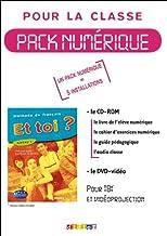 Et toi?: Manuel numerique 1 (A1) CD-Rom + DVD (5 licences)