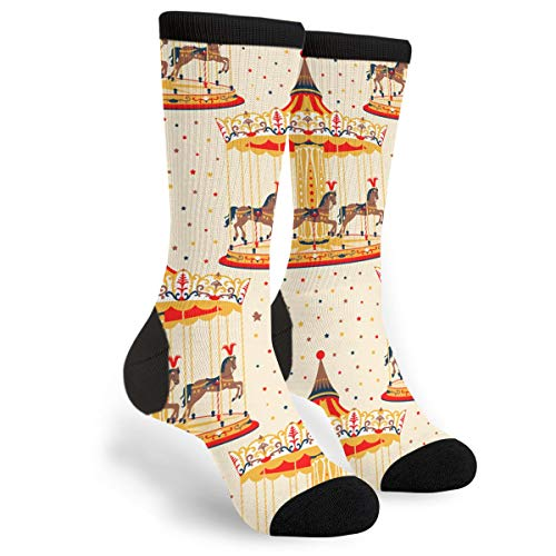 Packsjap Origami Dinosaurios Hombres y Mujeres Casual Cool Cute Crazy Funny Athletic Sport Colorful Fancy Novelty Graphic Crew Tube Calcetines