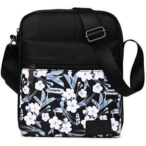 Kemy's Girls Crossbody Purse Floral Small Crossbody Bags for Teen Girls Shoulder Messenger Tween...