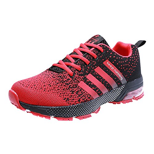 Zapatillas de Deportivas para Correr Mujeres Atletico Running Air Cushion 3cm Respirable Sneakers