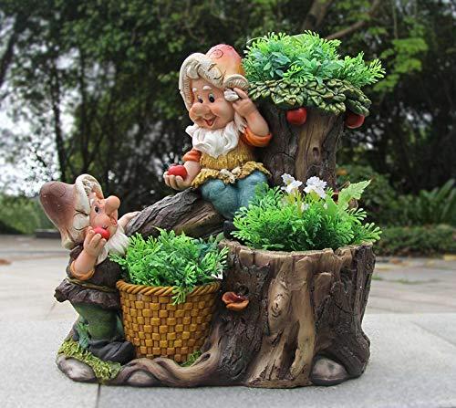 Design 1 Frosch XXL 33 cm Hoch 11149-1 Deko Garten Gartenzwerg Figuren Dekoration - 2
