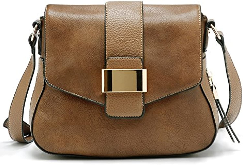Valyne Rectangular Metal Crossbody Shoulder Handbag