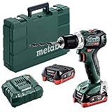 Metabo 601038800 601038800-Taladro Atornillador sin escobillas a bateria 12V / 2X LiHD 4,0 Ah Li-Ion...