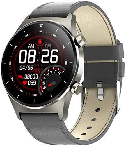 JSL Hombres s Smart Watch Bluetooth Teléfono Música Múltiples Deportes Modo GPS Soporte Podómetro Full Touch Smartwatch para Android-E