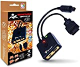 Brook Wingman SD Support PS5/ Xbox Series X/S/Xbox 360/ Xbox One/Xbox Elite 1 /Xbox Elite Series 2/PS3/ PS4/Switch Pro Controllers on Dreamcast Saturn PC X-Input Gaming Adapter Turbo and Remap