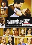 Anatomía De Grey - 5ª Temporada [DVD]