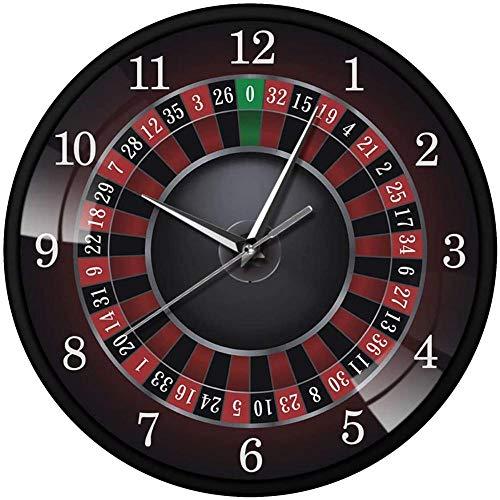 Reloj de Pared Retro Reloj de Pared de brújula Rusa de Metal Creativo Reloj de decoración del hogar Selección de Regalo Creativo