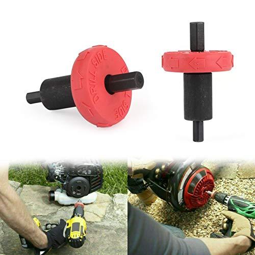 Topteng Jump Start Electric Drill Bit, Jump Start Electric Engine Drill Bit Adapter fits for Troy-Bilt Plug Button