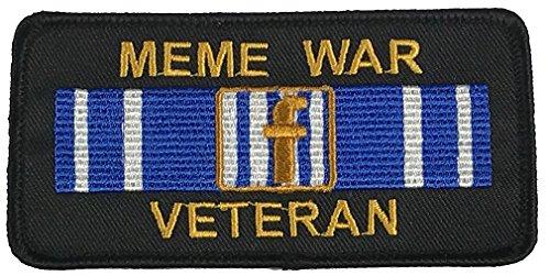 MEME WAR VETERAN PATCH - Color - Veteran Owned Business.