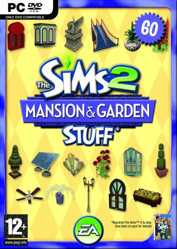 The Sims 2 Mansions & Garden Stuff Pack for The Sims 2 [UK Import]