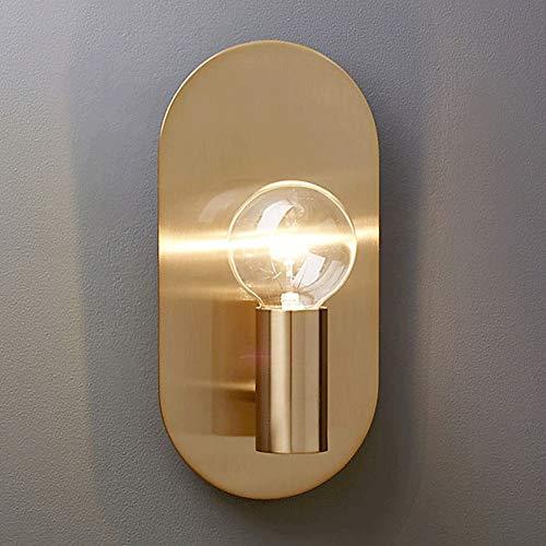 De enige goede kwaliteit Decoratie Scandinavische Moderne Woonkamer Slaapkamer Nachtkastje Wandlamp Goud Achtergrond Wandgang Trappen Balkon Metalen Wandlamp 15x26cm