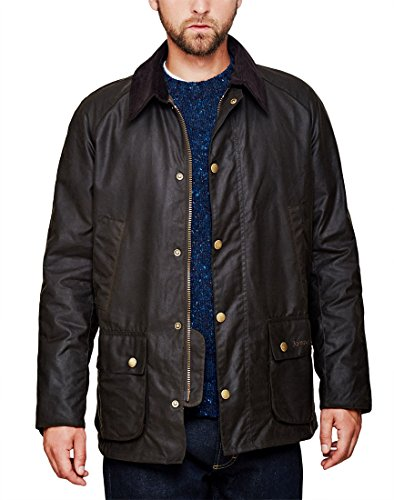Barbour Ashby Wax Jacket Olive S