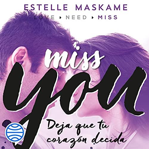 Diseño de la portada del título Miss You (Spanish editon)