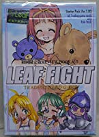 LEAF FIGHT 初回限定版REVIEW BOOK入り