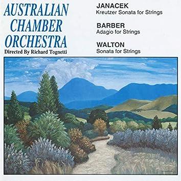 Janacek: Kreutzer Sonata for Strings / Barber: Adagio for Strings / Walton: Sonata for Strings