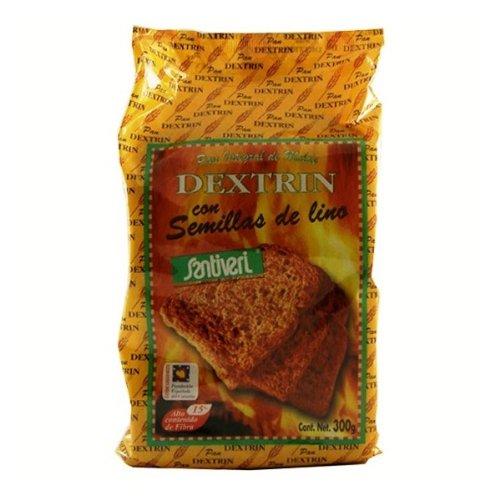 Santiveri Pan Dextrin Con Lino 300 g
