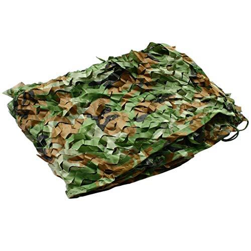 Camuflaje Verde Red, Camo Net Persianas Grande For Acampar Parasol De La Caz Ciegos Watching Ocultar La Decoración del Partido del Partido (Size : 4 * 5m)