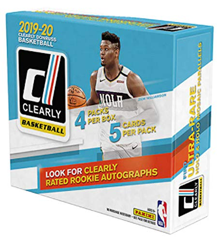 2019/20 Panini Clearly Donruss Basketball box (20 cards/bx)