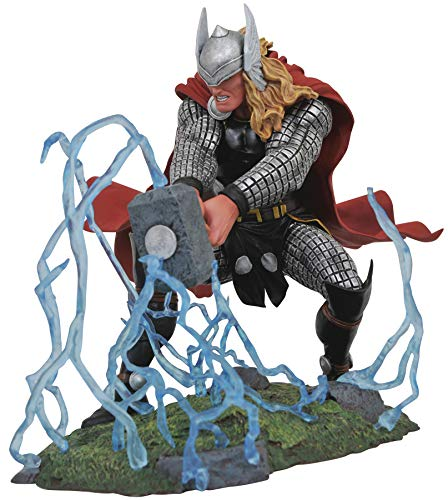DIAMOND SELECT TOYS Marvel Gallery, Thor PVC Figure, Multicolor