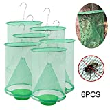 Ranch Fly Trap, FOONEE Most Effective Non-Toxic Insect Trap Indoor & Outdoor Food