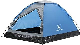 Zhicaikeji Tente légère, imperméable, coupe-vent et résistante aux UV, parfaite pour la plage, le camping