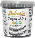 Dolceria Italiana Pasta di Zucchero 1 kg -Nero