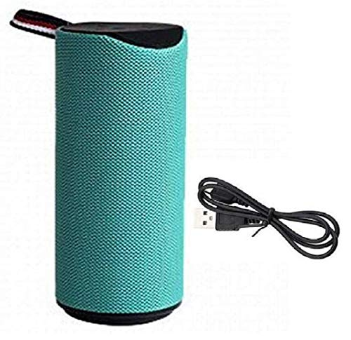 Greenbell Super Bass Waterproof Portable Wireless Bluetooth Speaker 10W with Built-in mic, TF Card Slot, USB Port, Green