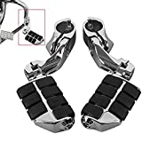 32mm 1 1/4' Highway Engine Guard Bar Highway Footpegs Mount Kit Fits Compatible with Touring Road Electra Street Glide Road King Dyna Sportster