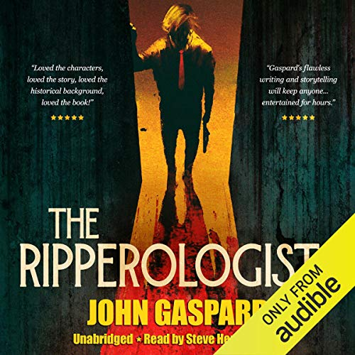 The Ripperologists audiobook cover art
